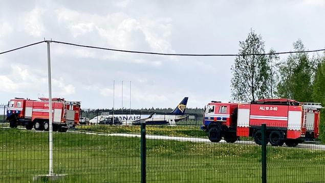 Boeing 737-8AS de Ryanair à Minsk.