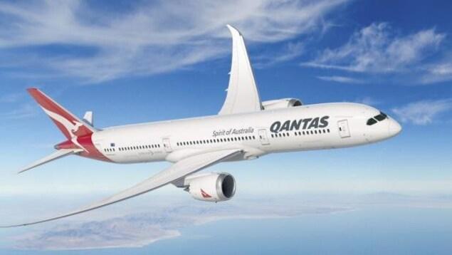 Le vol Los Angeles-Melbourne se fera avec un Boeing 787-9 Dreamliner de la compagnie australienne Qantas.