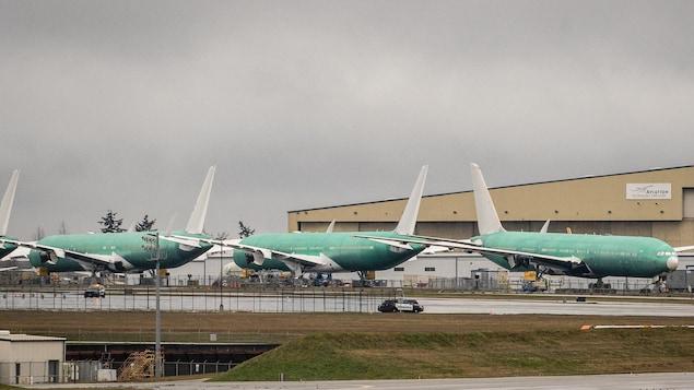 Des Boeing 777 aux États-Unis.