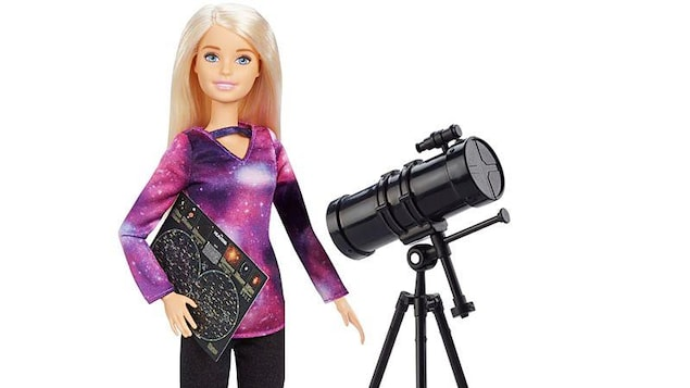 La Barbie astrophysicienne de Mattel.