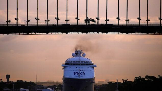 Un bateau de croisière de l'entreprise P & O