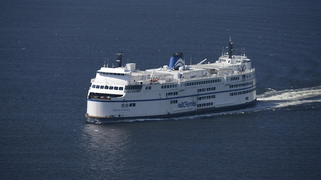 Un traversier de BC Ferries.