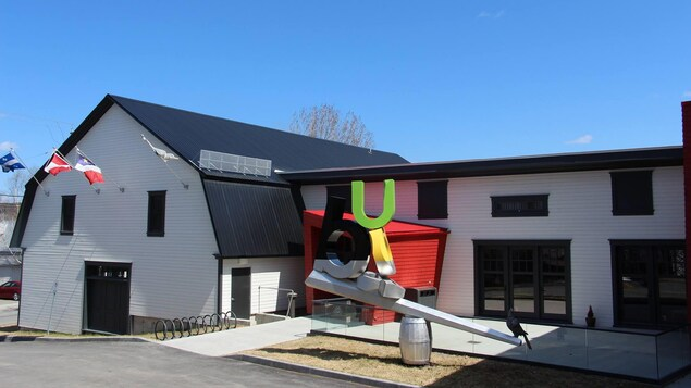 La façade extérieure du Beaulieu culture du Témiscouata.