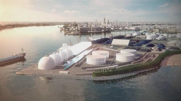 Le projet Beauport 2020 est évalué à 190 millions de dollars.