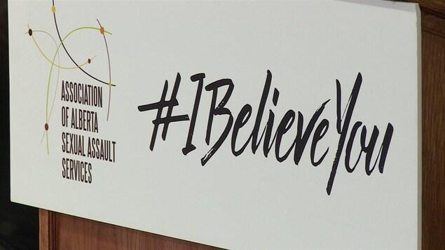 La campagne I believe you vise à aider les proches des victimes lorsqu'il s'agit de les écouter.