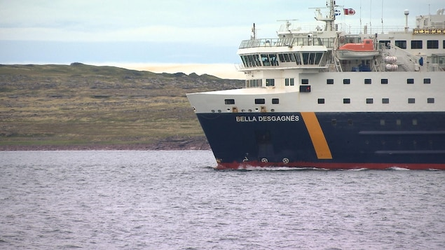Le bateau Bella Desgagnés