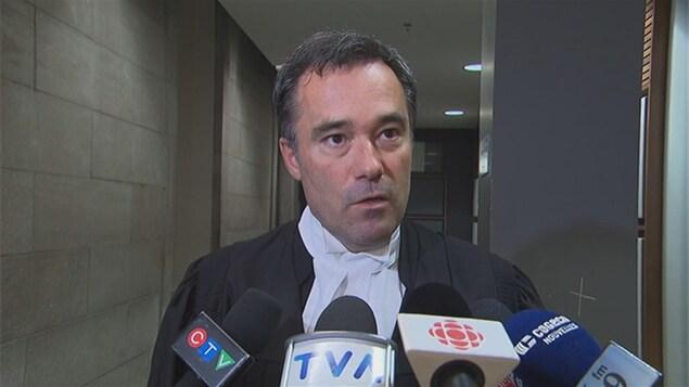 Me Benoît Larouche, procureur aux poursuites criminelles et pénales