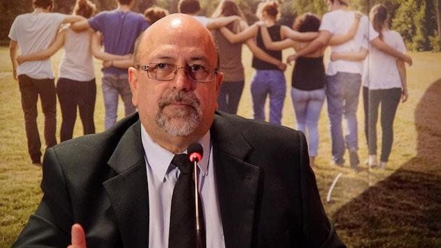Le coroner Bernard Lefrançois