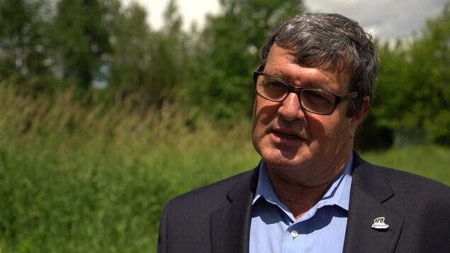 Bernard Ouellet, maire de Saint-Apollinaire