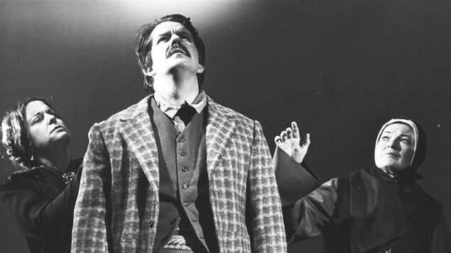 Bernard Turgeon joue dans l'opéra Louis Riel.