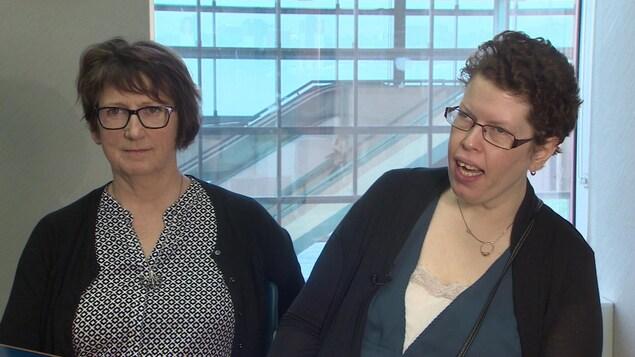 Jo-Anne Pushie et Beth MacLean.