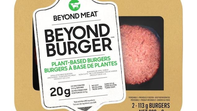 Un emballage de produit Beyond Meat