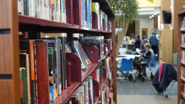 La bibliothèque municipale de Barrie.