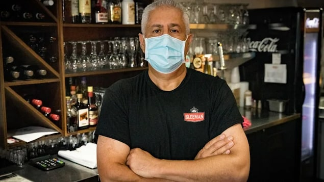 Bill Mahfouz, owner of Benny's All Day restaurant, says a customer who couldn't provide proof of vaccination cursed at staff and threatened to damage the property.