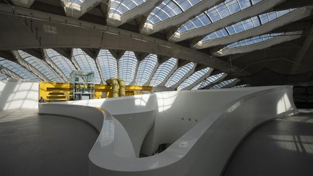 L'Intérieur du Biodôme de Montréal.