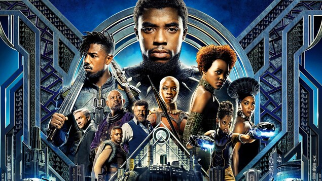 Presque tous les personnages du film de Marvel sont des Noirs, à l'exception de deux.