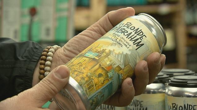La Blonde d'Abraham sera la seule bière servi sur le site de la fête nationale à Québec