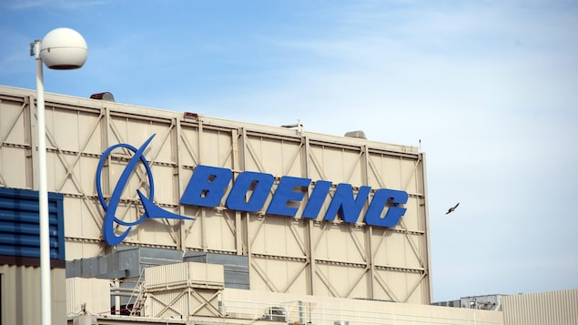 Le bâtiment de la compagnie Boeing à Huntington Beach, en Californie