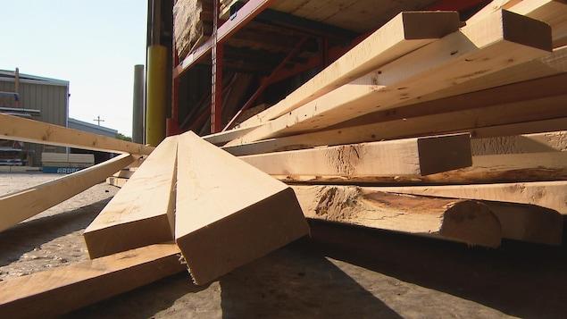 Le prix des matériaux de construction est à la hausse depuis quelques mois.