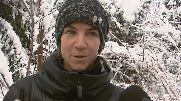 Anne-Marie Gauthier. porte-parole de la Commission de la capitale nationale du Québec