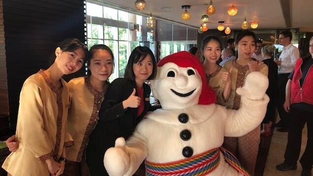 Le Bonhomme Carnaval en Chine