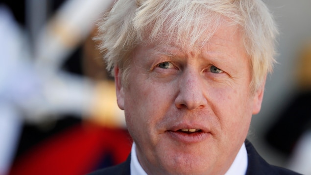 Le premier ministre britannique Boris Johnson.