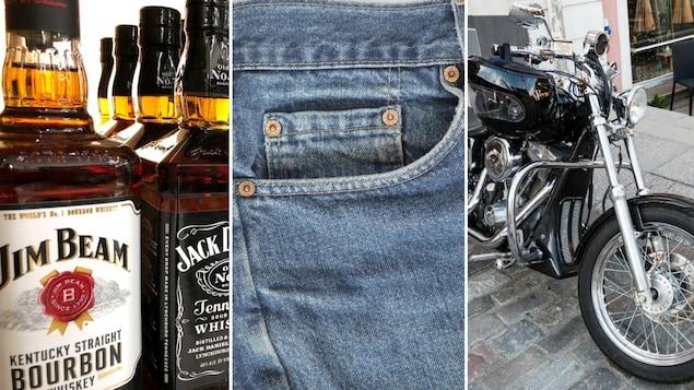 Union européenne : Jeans, bourbon et motos US dorénavant taxés