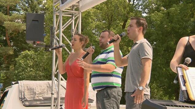 La brigade lyrique du Festival d'opéra de Québec