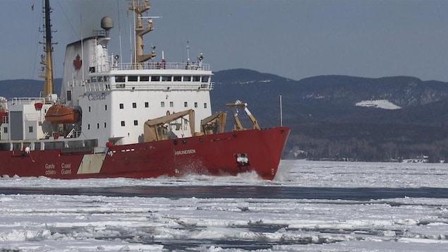 Le NGCC Amundsen, brise-glace de la Garde côtière canadienne (archives)