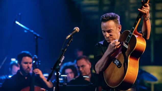 Bruce Springsteen en concert.