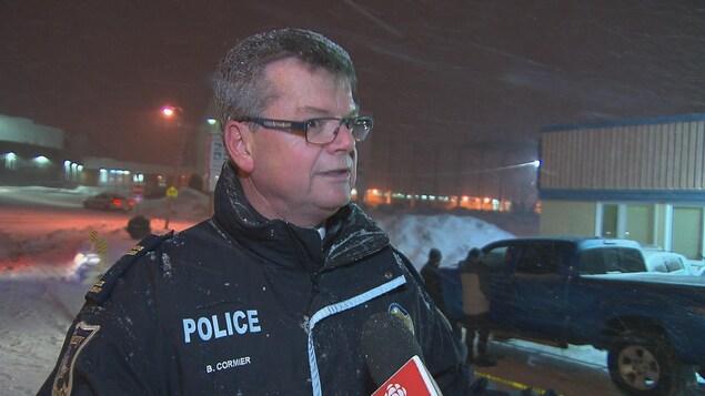 Bruno Cormier, de la sécurité publique de Saguenay