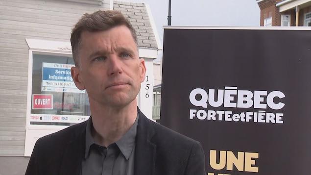 Bruno Marchand, chef de Québec forte et fière