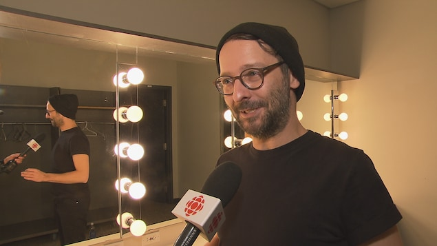 Bruno Paradis, comédien
