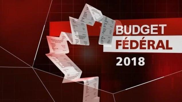 Bill Morneau présente le budget 2018 pour le gouvernement fédéral.
