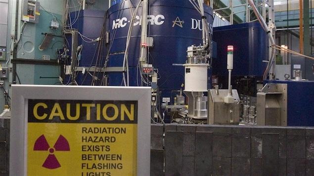 Le réacteur nucléaire de Chalk River, en Ontario