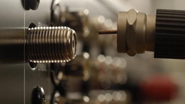 Une connexion câblée.