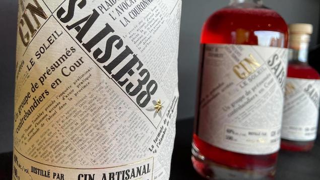 Les 600 bouteilles de gin à la camerise Saisie 38 sont disparues en 2 heures et 40 minutes, l'automne dernier.
