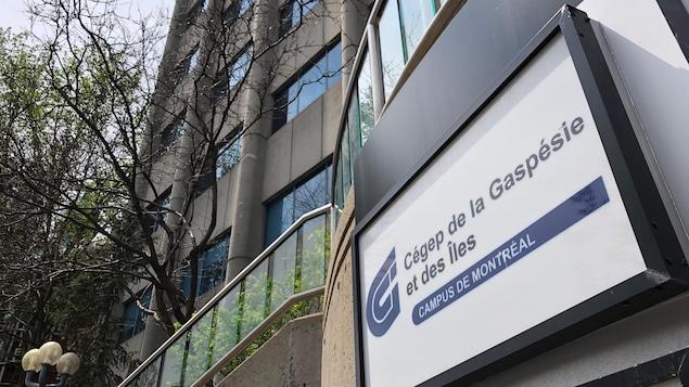 Campus du Cégep de la Gaspésie et des Îles à Montréal