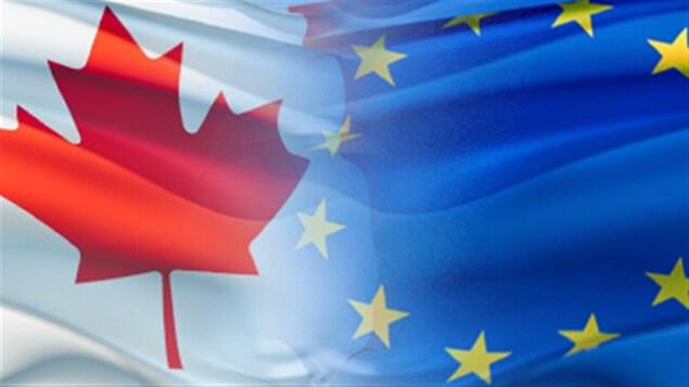 Accord économique et commercial Canada-Europe.