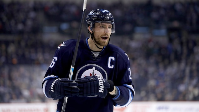 Le capitaine des Jets de Winnipeg, Blake Wheeler
