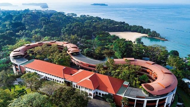 Le sommet historique Trump Kim a lieu à l'hôtel Capella situé sur l'île de Sentosa dans le sud de Singapour