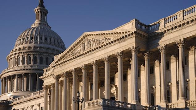 Bâtiment du Capitole à Washington.