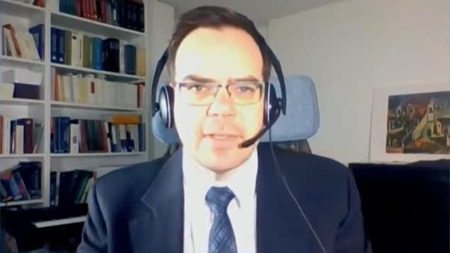 Le professeur Patrick Taillon.