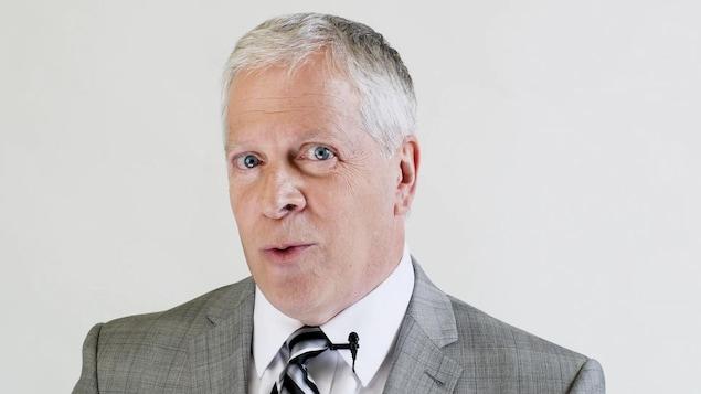 Le député de Lévis, François Paradis, dans une publicité de la Coalition avenir Québec