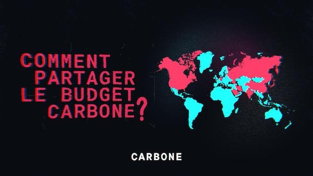Comment partager le budget carbone?