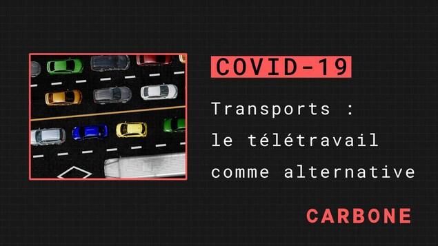 Transports : le télétravail comme alternative