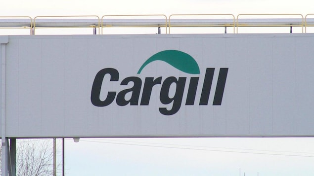 Un panneau Cargill.