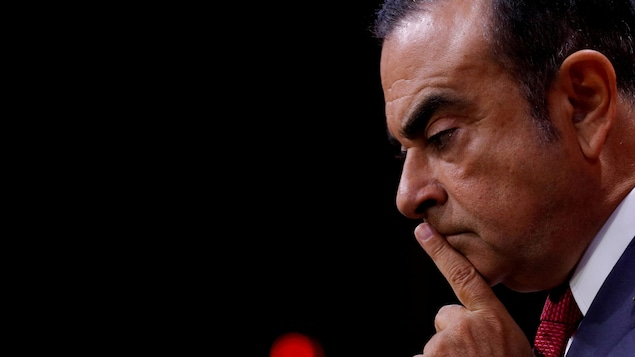 Photo d'archives datant du 15 septembre 2017 montrant le PDG de Renault, Carlos Ghosn.