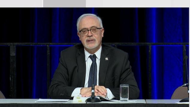 Carlos Leitao, porte-parole du PLQ en matière de finances