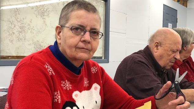 Carmelle Nadeau, retraitée de Québec